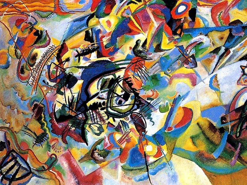 Абстракция - картины художников