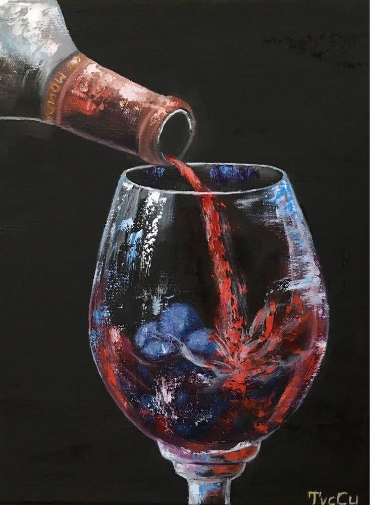 Кровавое вино