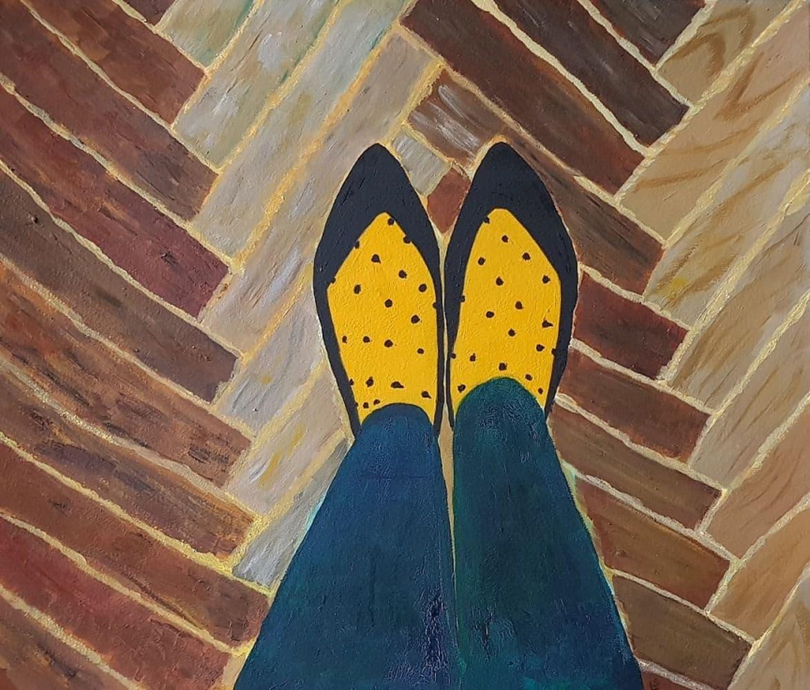 Ноги и тапки