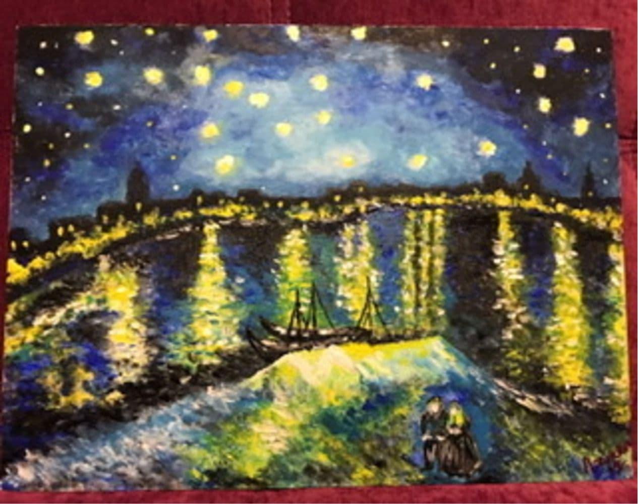 Звездная ночь над Роной