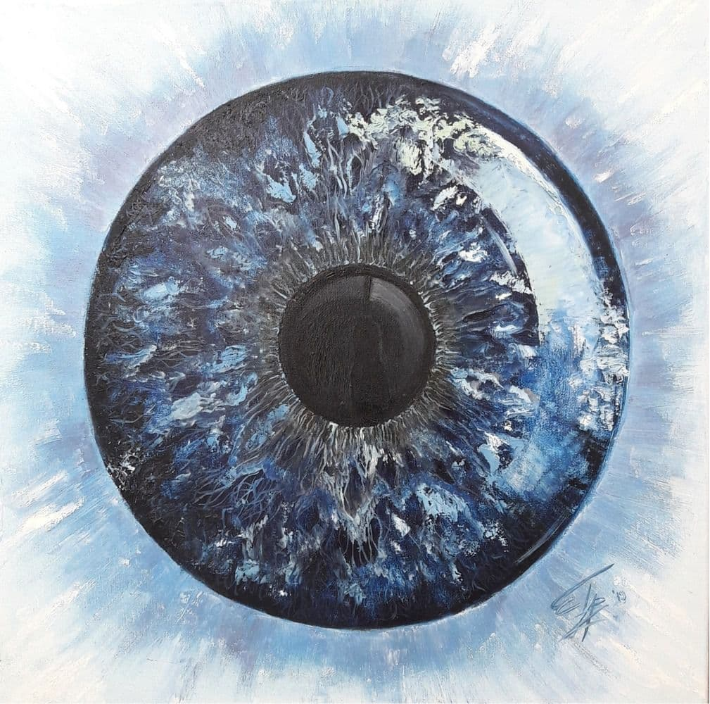 В глаза