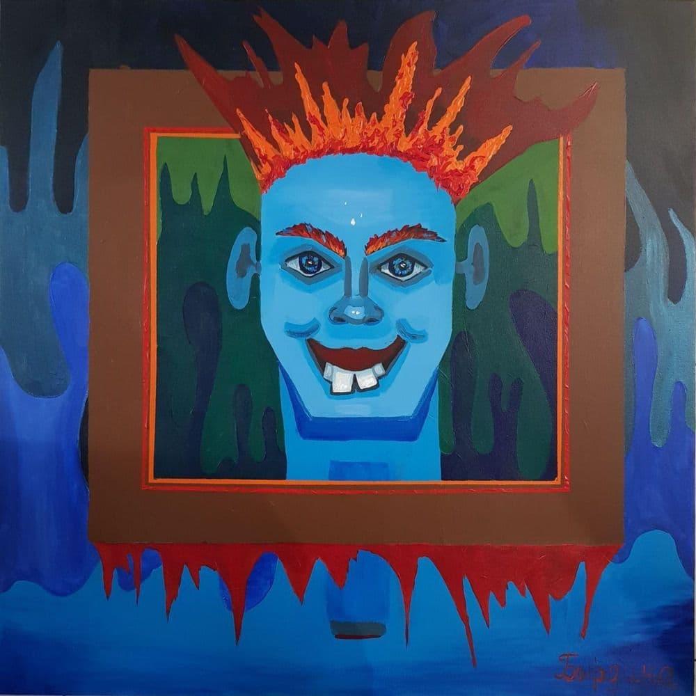 Портрет в портрете или Квадратный квадрат