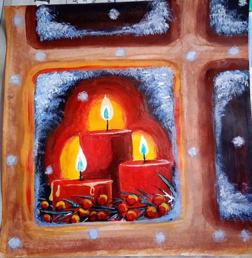 Рождество при свечах