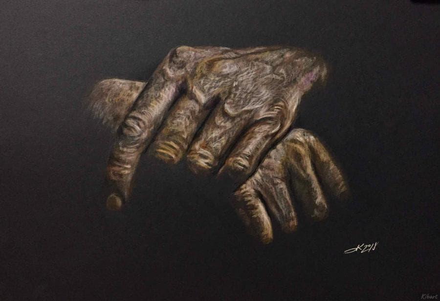 Руки...