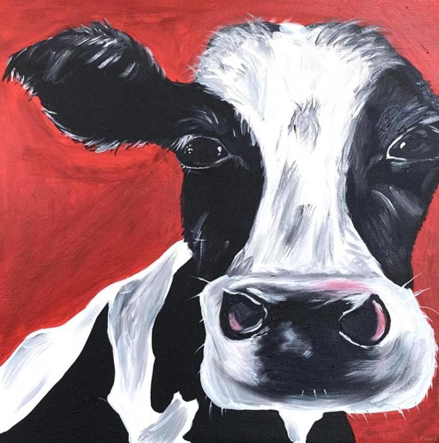 3D корова