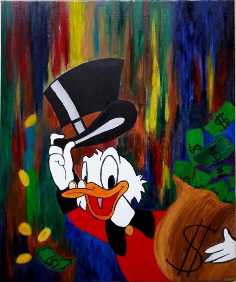 Картина маслом Scrooge Tales