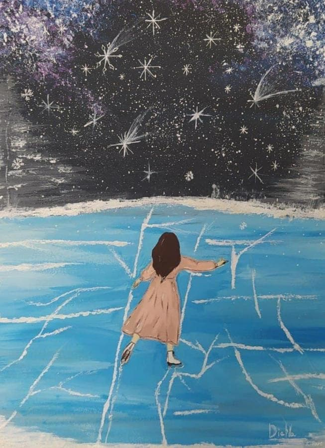 Девушка на льду