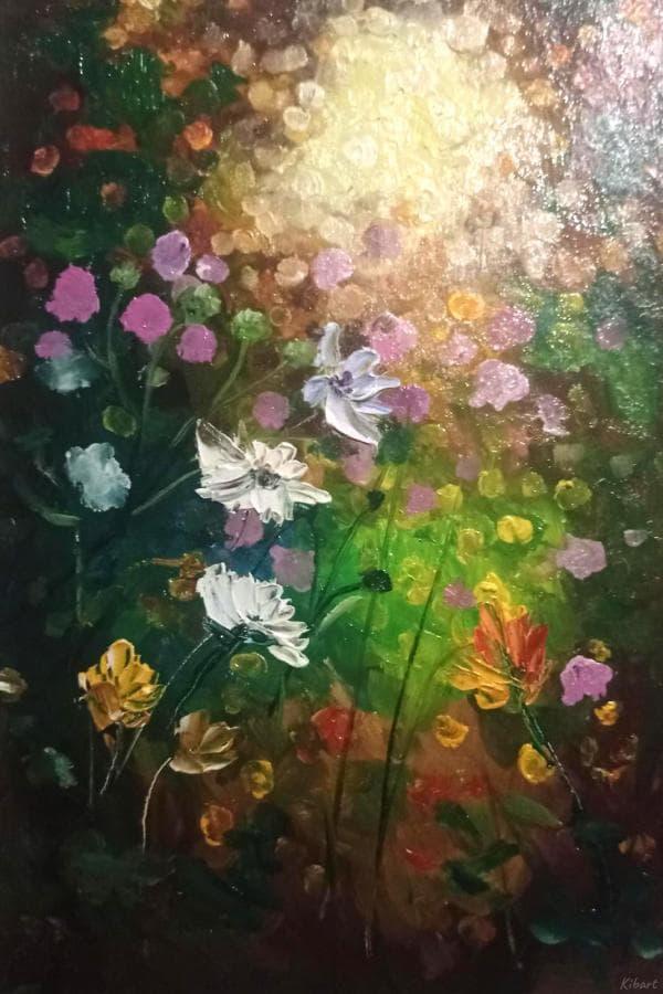 Миниатюры цветы блики лето