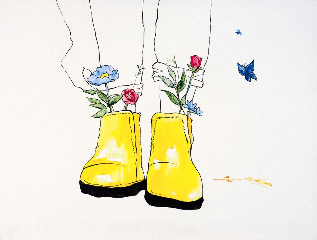 «Желтые ботинки»