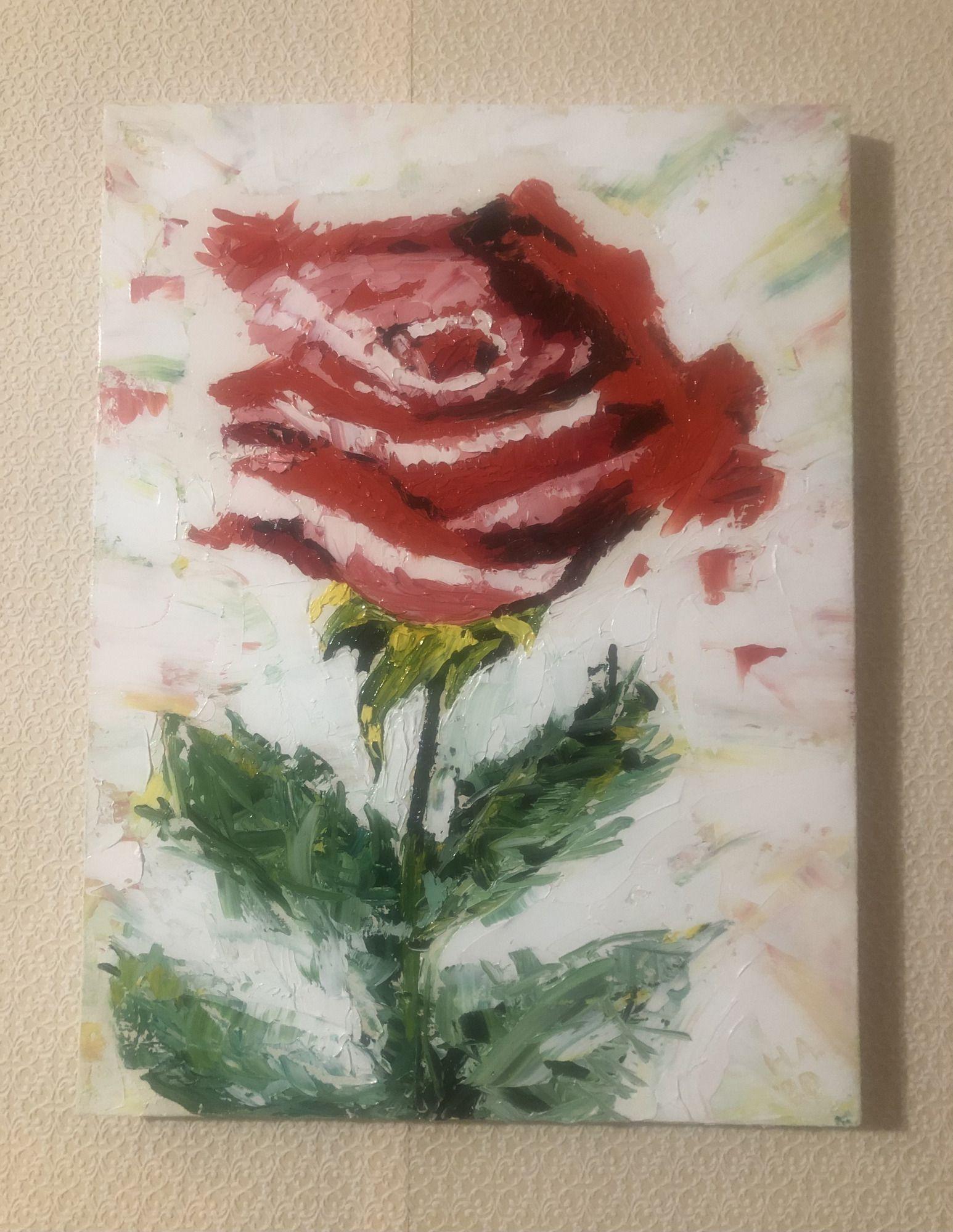 Красная роза - 2/3