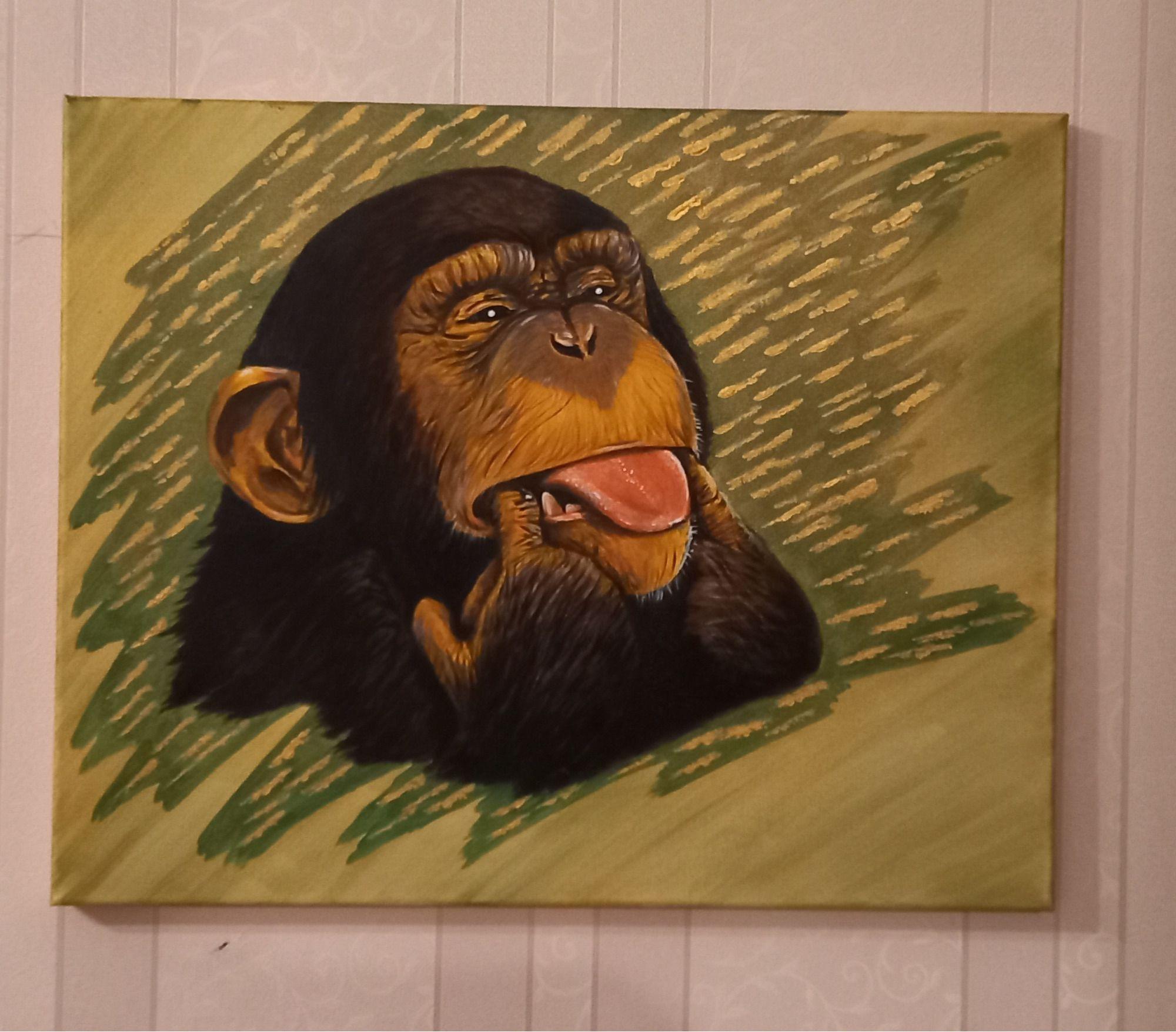 Funny monkey - 2/3
