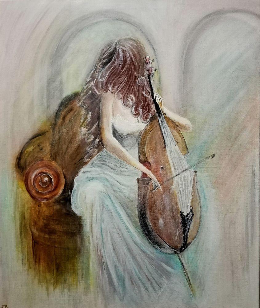 Девушка с виолончелью