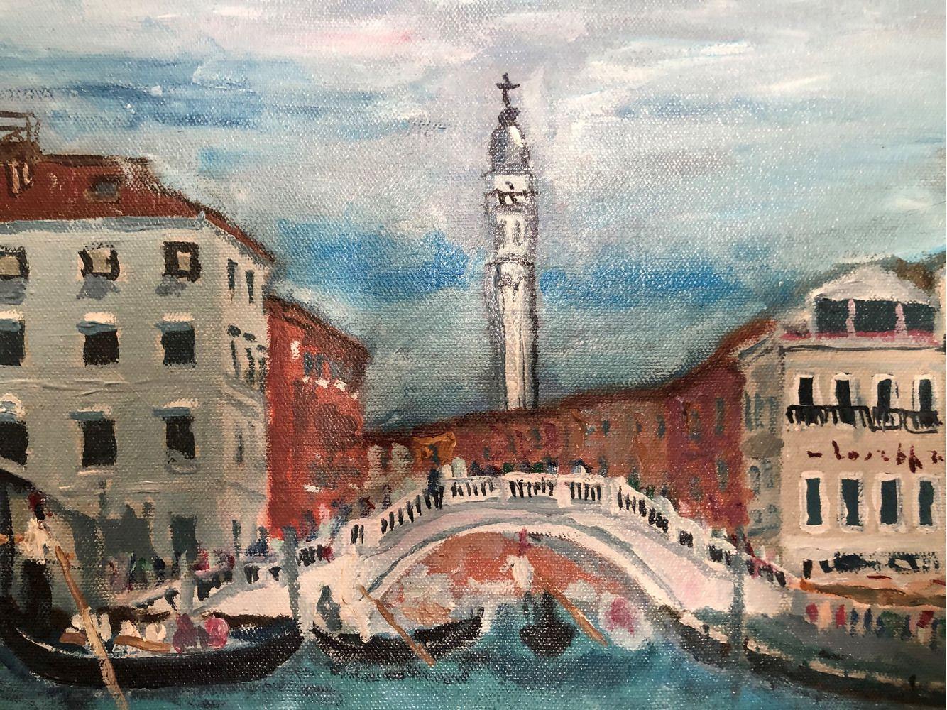 Венеция. Вид на церковь С