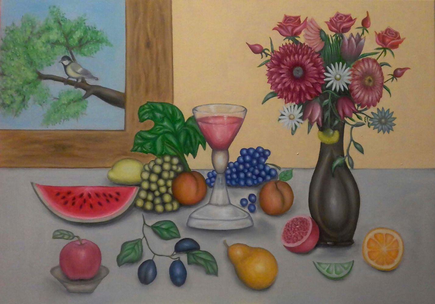 Чудовий фруктовий рисунок