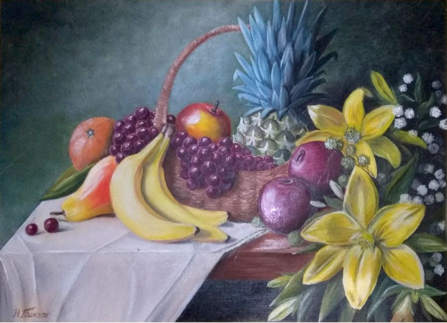 Натюрморт, фрукти