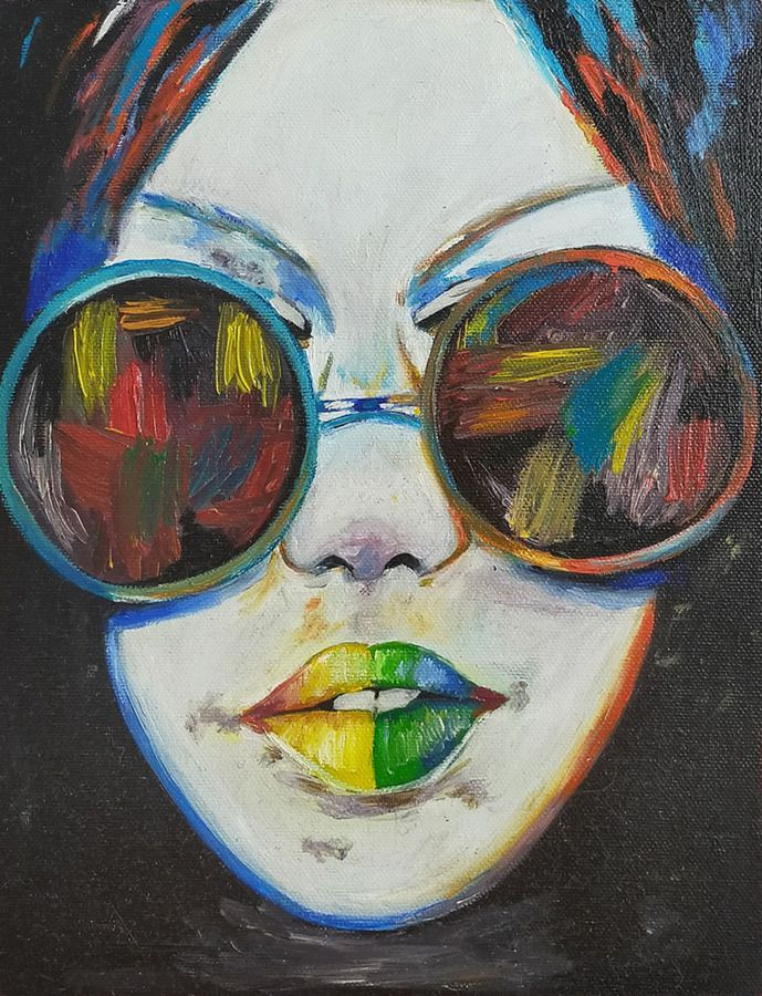 Дівчина в окулярах