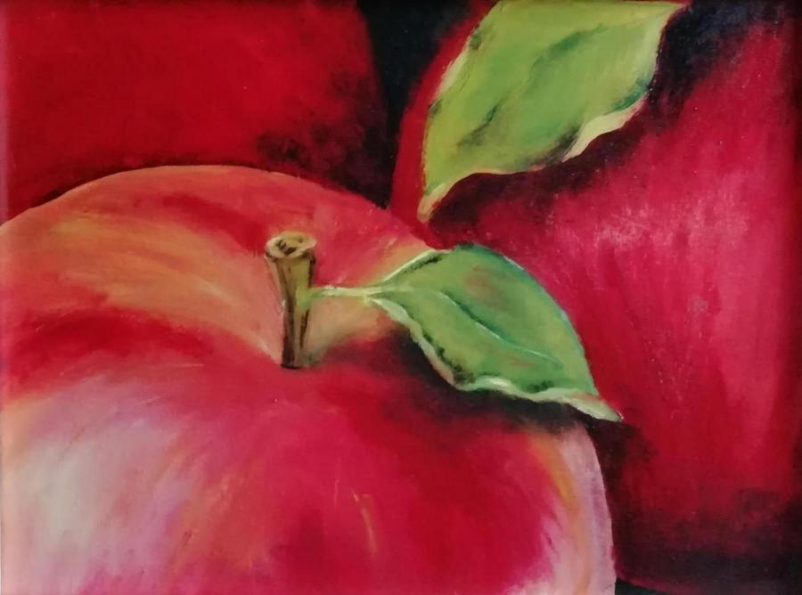 Яблочный урожай