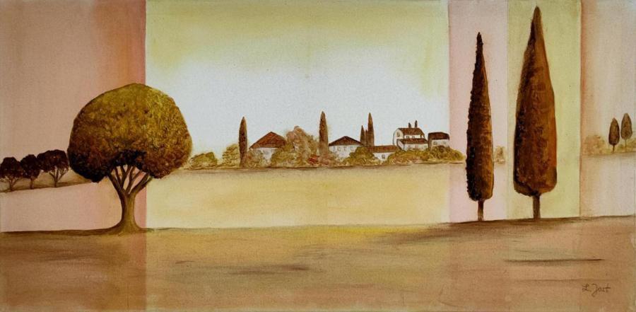 Landschaft  ( Nachgem.)